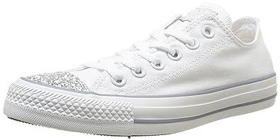 Converse Chuck Taylor All Star Femme Toecap Sparkle Ox 382580 Damen Sneaker