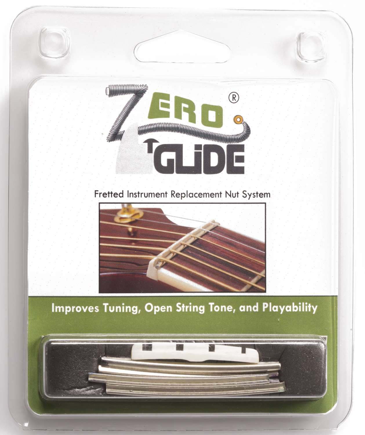 Zero Glide ZS-26F Slotted nut replacement system for Fender J-Bass
