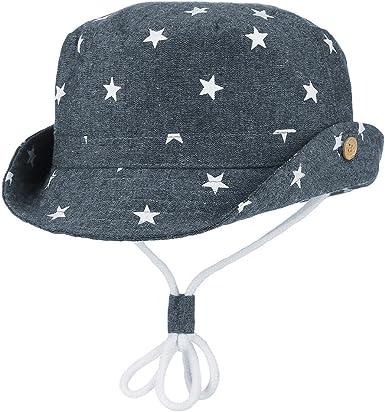 Verano Sombrero Infantil con ala Tipo de Pescador Algodón Gorra ...