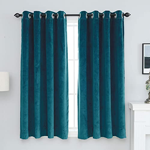 Best window curtain panel: XIANYU Grommet Blackout Velvet Curtains