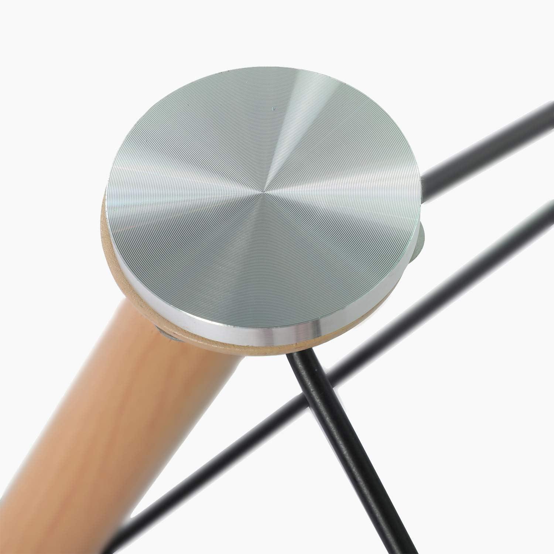 110 73cm 70 H J WeDoo Esstisch Glas Rechteckig