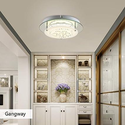 Amazon.com: Auffel - Lámpara de techo LED regulable, 11.0 in ...