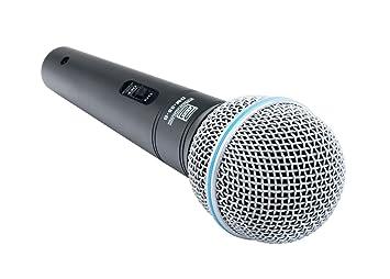 Pronomic Superstar JACK Lot de Microphones Microphones Pied XLR Câble jack: Amazon.fr: Instruments de musique