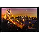 Heitronic LED Leuchtbild San Francisco, Kunststoff/ Metall, 34007