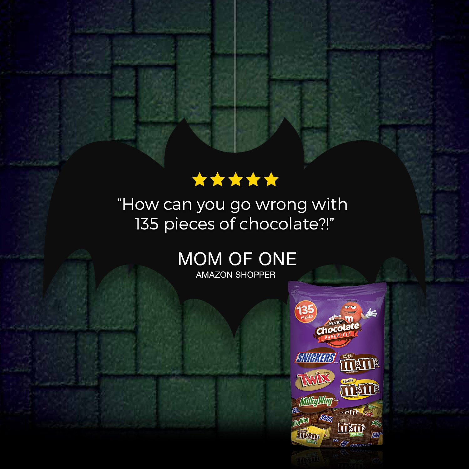 MARS Chocolate Favorites Halloween Candy Bars Variety Mix 69.2-Ounce 135-Piece Bag by Mars (Image #5)
