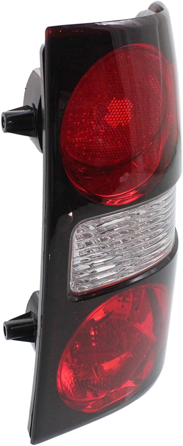 Tail Light Lens and Housing Compatible with 2006-2010 Ford Explorer Passenger Side