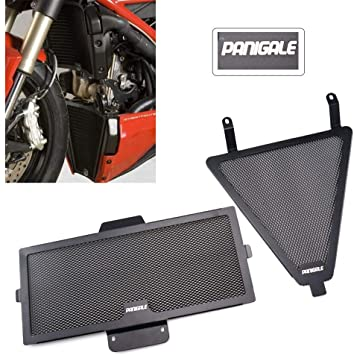 Aluminum Radiator Oil Cooler Guard Cover Protector 899 959 1199 1299 S Panigale