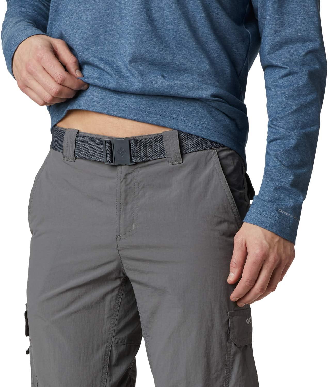 Columbia Men's Cargo Trousers, Silver Ridge II Grey (City Grey)