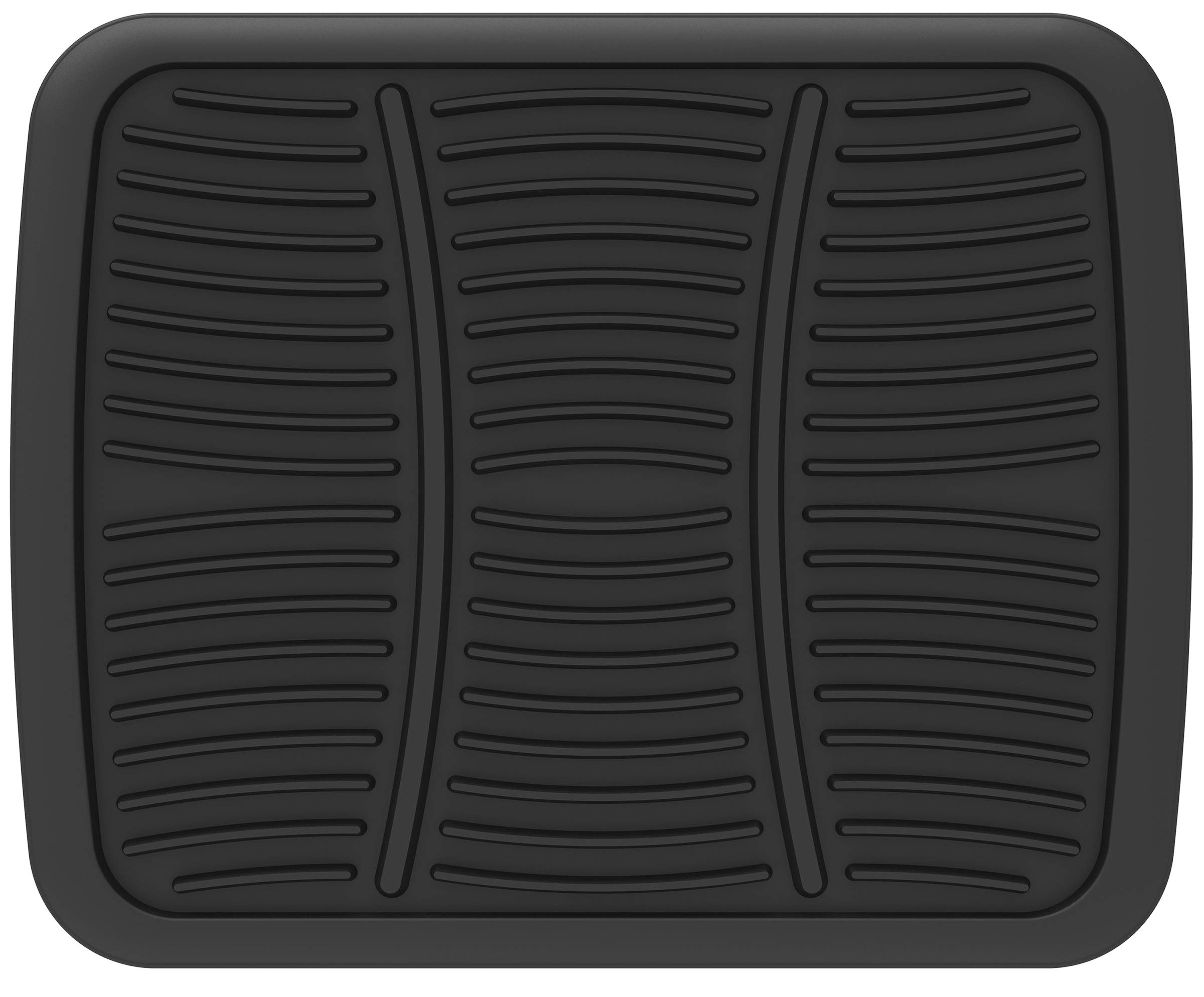 Carsio Black Rubber Tailored Car Floor Mats To fit VW Sharan 2010 Onwards 3mm 4pc Set
