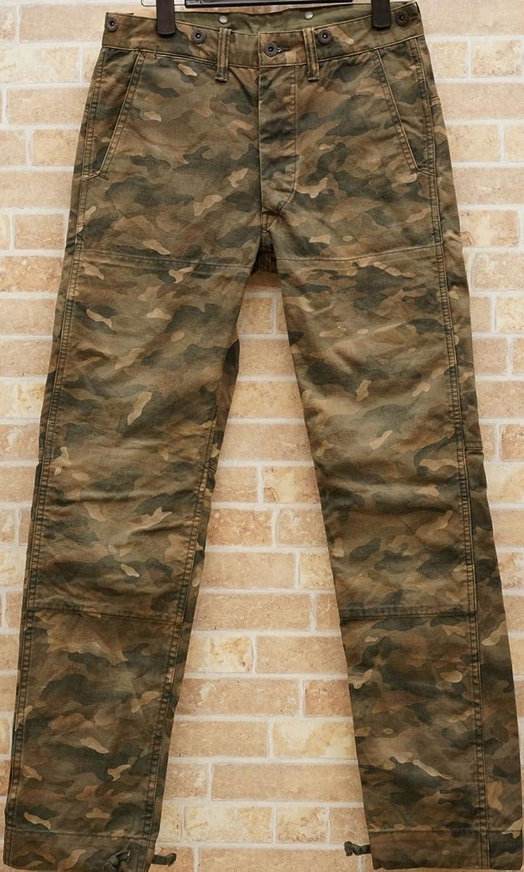 (ダブルアールエル) RRLカモフラ コットン キャンバス ハンティング パンツ 28 29 30 31 32 メンズ Cotton Canvas Hunting Pant 並行輸入品 [並行輸入品] B01NAIQAF2 30x30