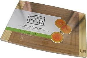 Chicago Cutlery Woodworks Bamboo Cutting Board (14-Inch x 20-Inch)