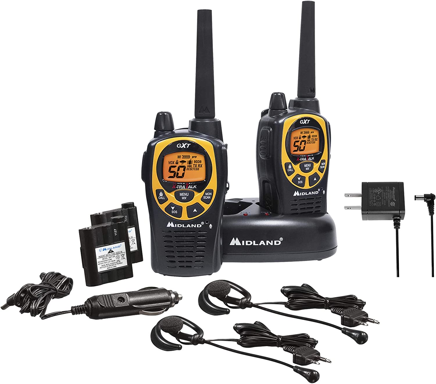 Midland GXT1030VP4 50-Channel GMRS Two-Way Radio