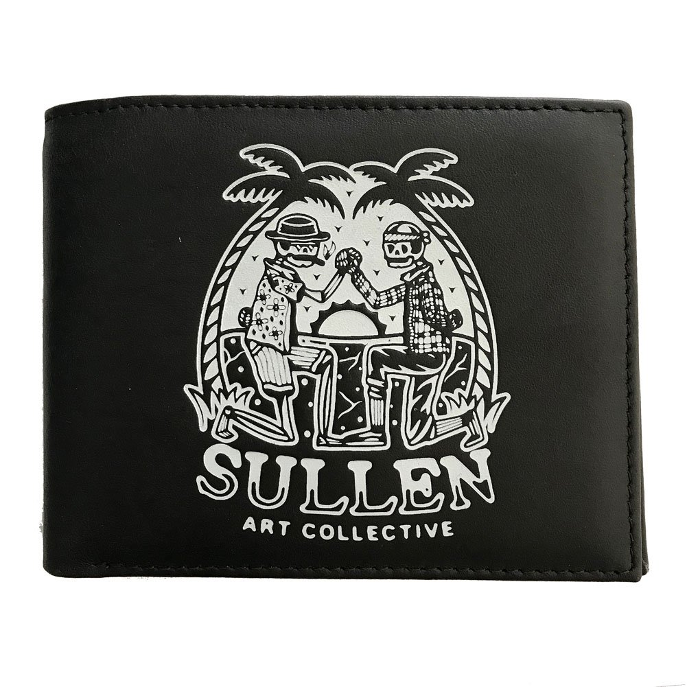 Sullen Men's Homies Leather Bifold Wallet Black