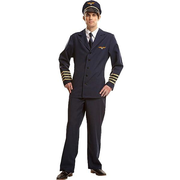 My Other Me Me-202624 Disfraz de piloto para hombre, S (Viving ...