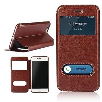 1806fb365a iPhone8 plus ケース アイフォン8 プラス iPhone 7 Plus ケース 手帳型 窓付き【iCoverCase