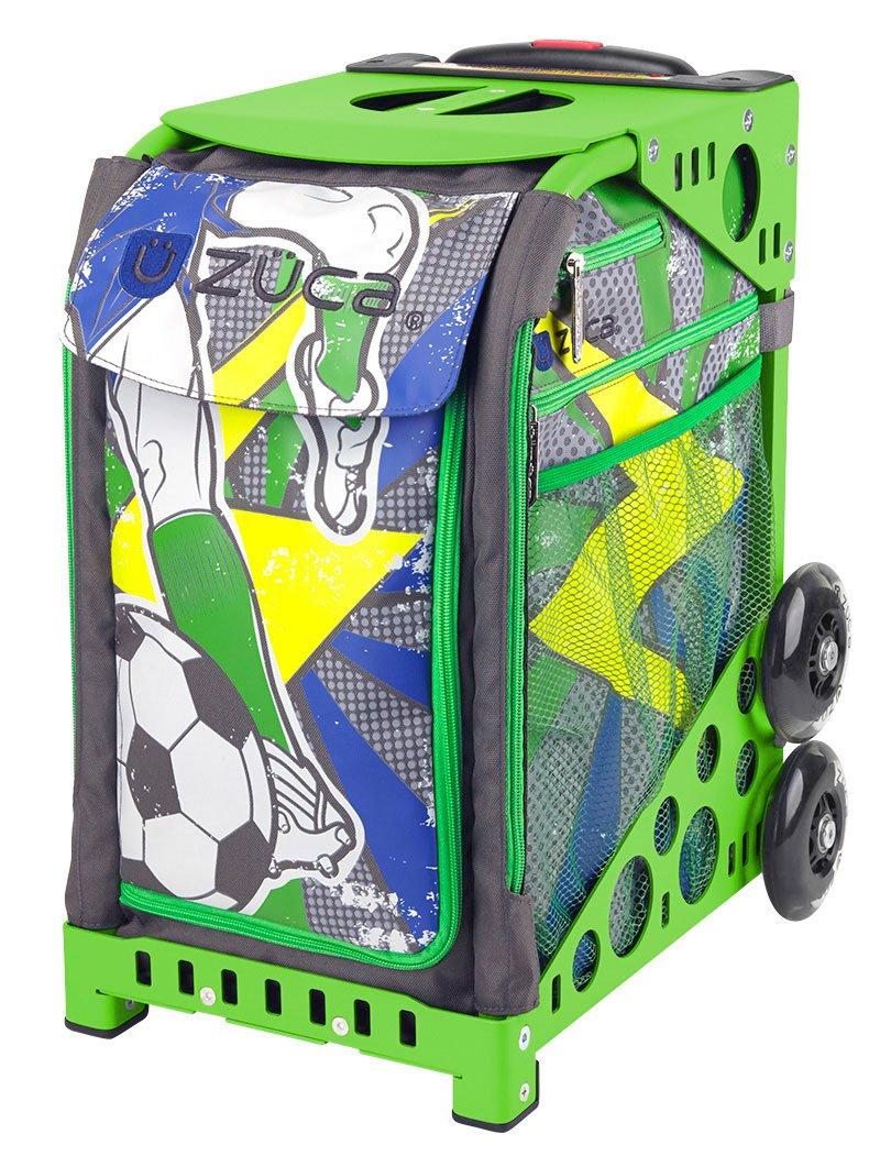 Zuca World Cup inspired Striker roller bag- choose your frame color! (green frame) by ZUCA (Image #1)
