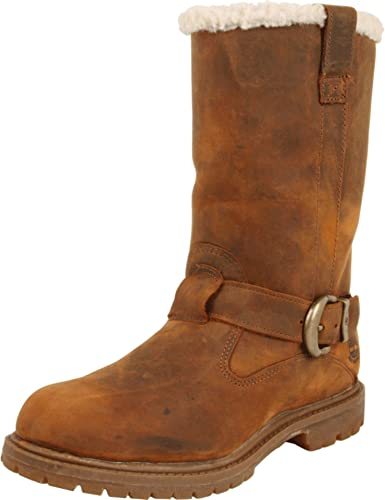 Timberland Women's Nellie Pull-On Boot,Medium Brown,7 ...