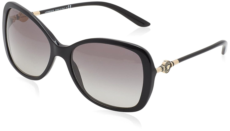 Versace Damen Sonnenbrille 0VE4303 108/13, Braun (Havana/Browngradient), 58