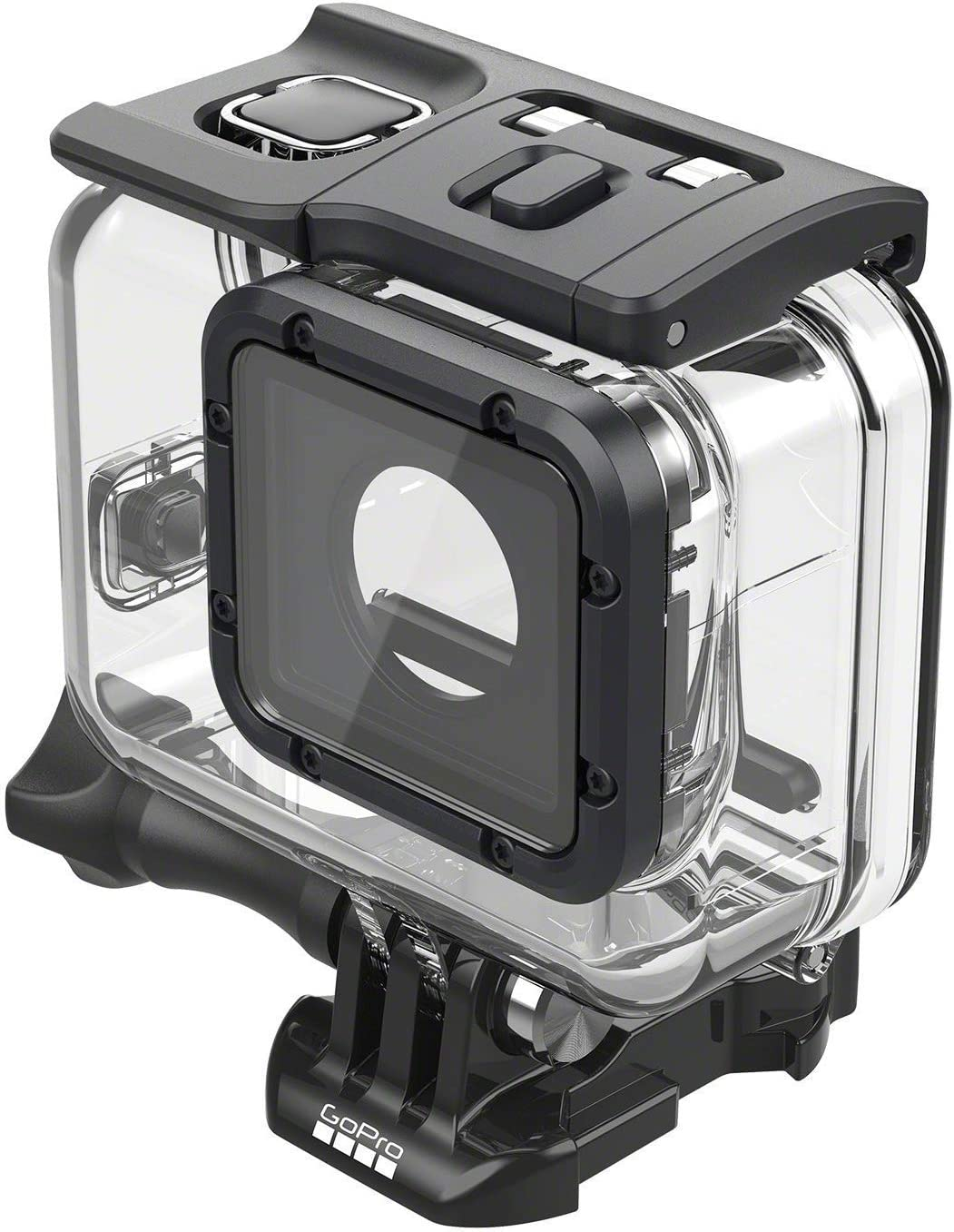 HERO5 Black HERO7 Black VKeyueDa VKeyueDa 45m Waterproof Housing Protective Case with Buckle Basic Mount /& Screw for GoPro HERO6 Black