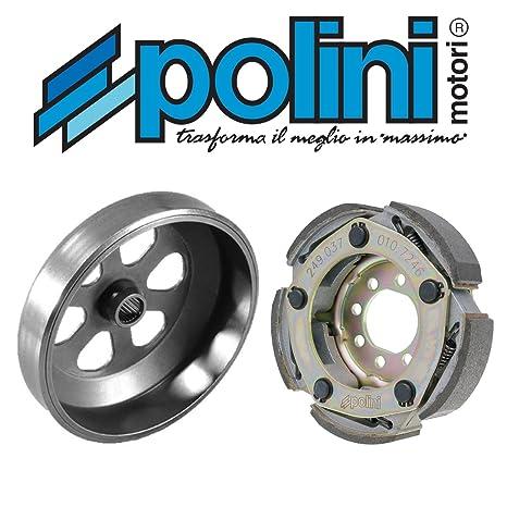 Tambor/Campana Embrague Polini Código Color 250.020 impulsor embrague POLINI Código Color 249.037 para Piaggio