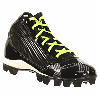 77defa31c9d Under Armour Boy s Yard Mid RM CC Youth Baseball Cleat Black