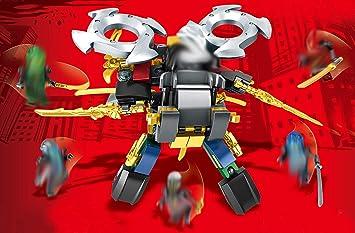 Modbrix Ladrillos Ninja Mech Robot Blade Incluye 6 Ninja ...