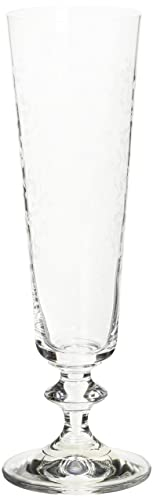 Bohemia Crystal Provence Champagne Flute Set of 6 205 ml