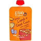 Ella's Kitchen Zingy Lamb and Cous Cous with Mangoes and Raisins 130 g (Pack of 6)