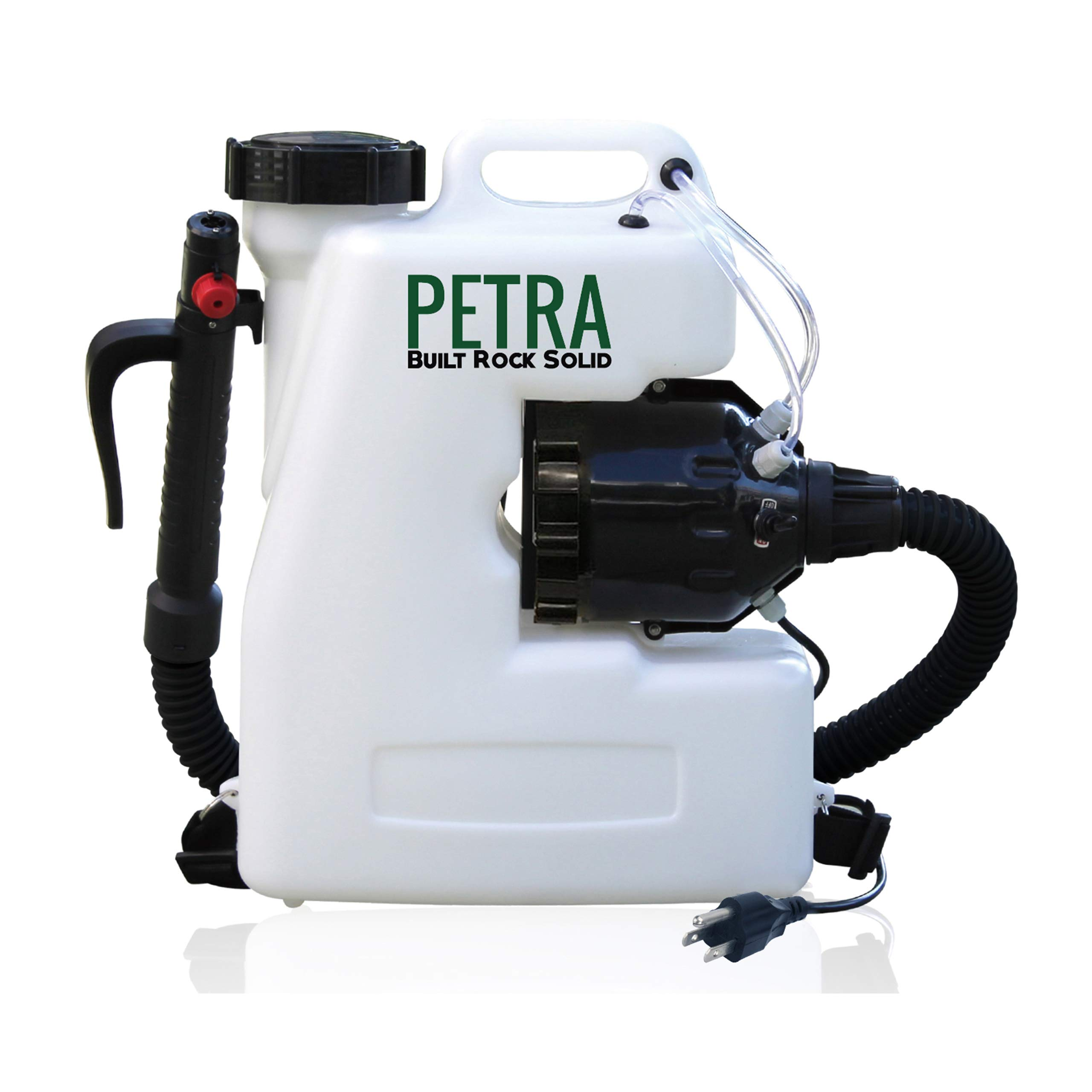 Petra Electric Fogger Atomizer Backpack Sprayer - 4 Gallon Mist Blower with Extended Commercial Hose for Pest Control - Insect, Bug & Mosquito Fogger (Atomizer Fogger) by Petra