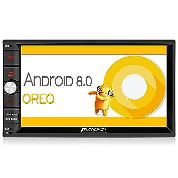 6c051c86b8cb23 PUMPKIN Android 8.0 Autoradio 2 Din Ecran Tactile 7 Pouce Octa-core RAM 4Go  ROM