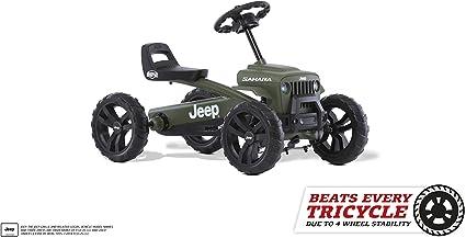 Amazon Com Berg Pedal Car Buzzy Jeep Sahara Pedal Go Kart Ride