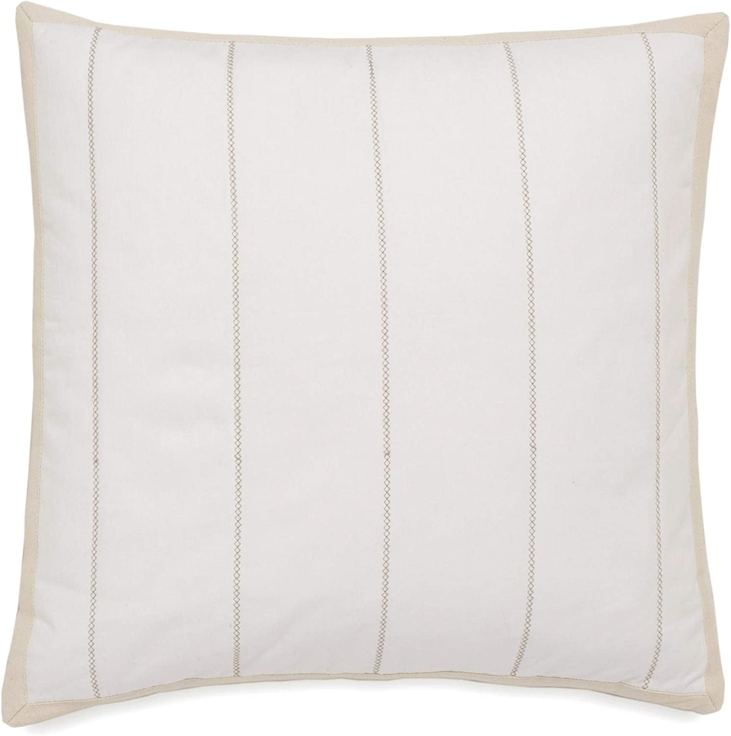 Southern Tide Home Southport Sham, European Square, Ivory
