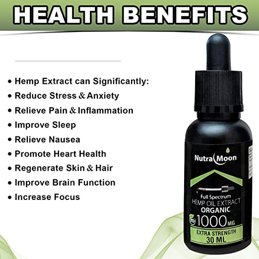 Amazon.com: (3 Pack) of 1000mg Hemp Oil Hemp Oil for Pain Relief Hemp Oil for Sleep, Stress Relief, Mood Support, Skin Care Rich in MCT Oil Fatty Acids ...