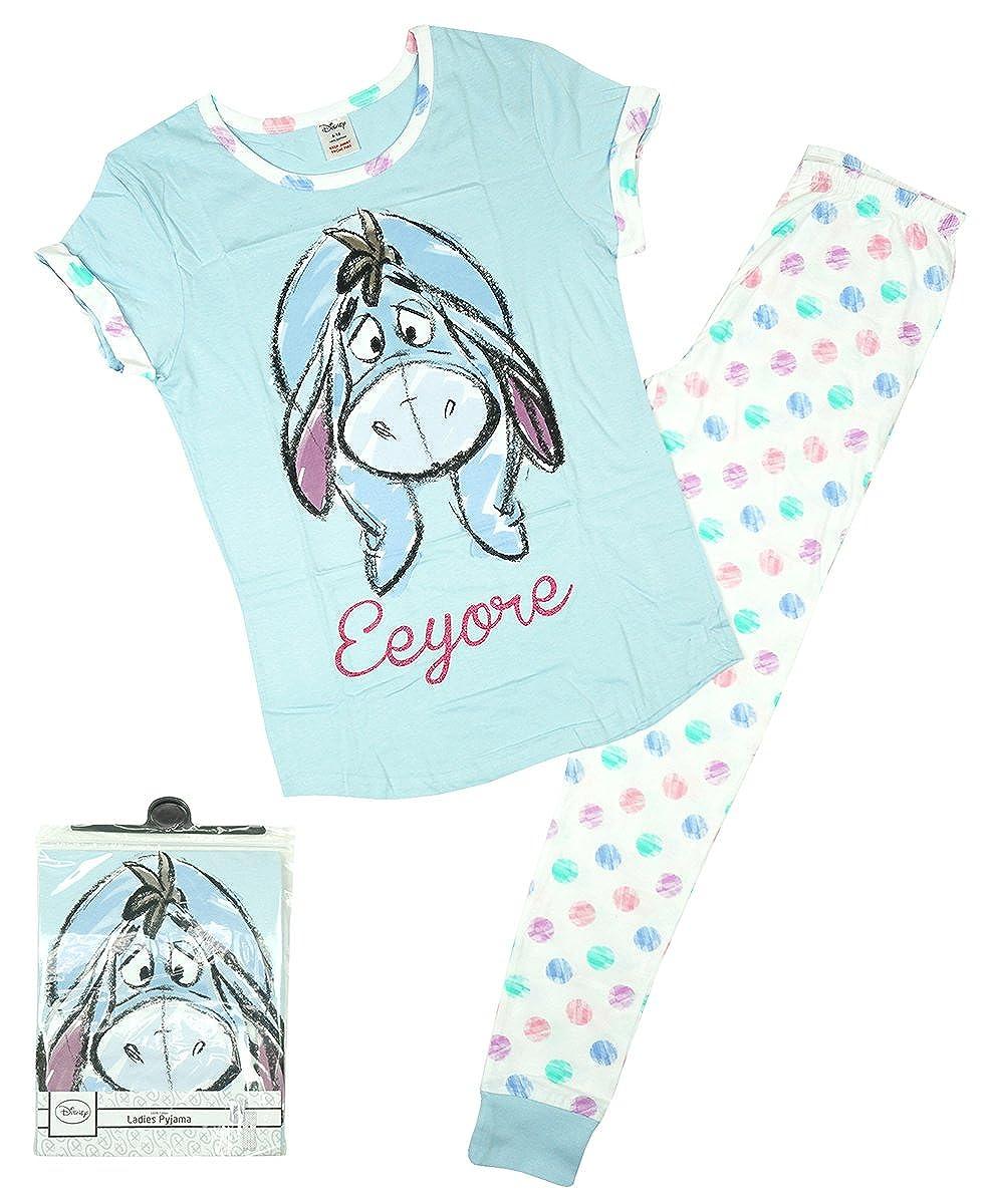 Mujer Disney Winnie the Pooh Eeyore Paquete De Regalo Pijama Tallas Grandes de 8 a 22 - algodón, Azul, 100% algodón, mujer, 20-22: Amazon.es: Ropa y ...