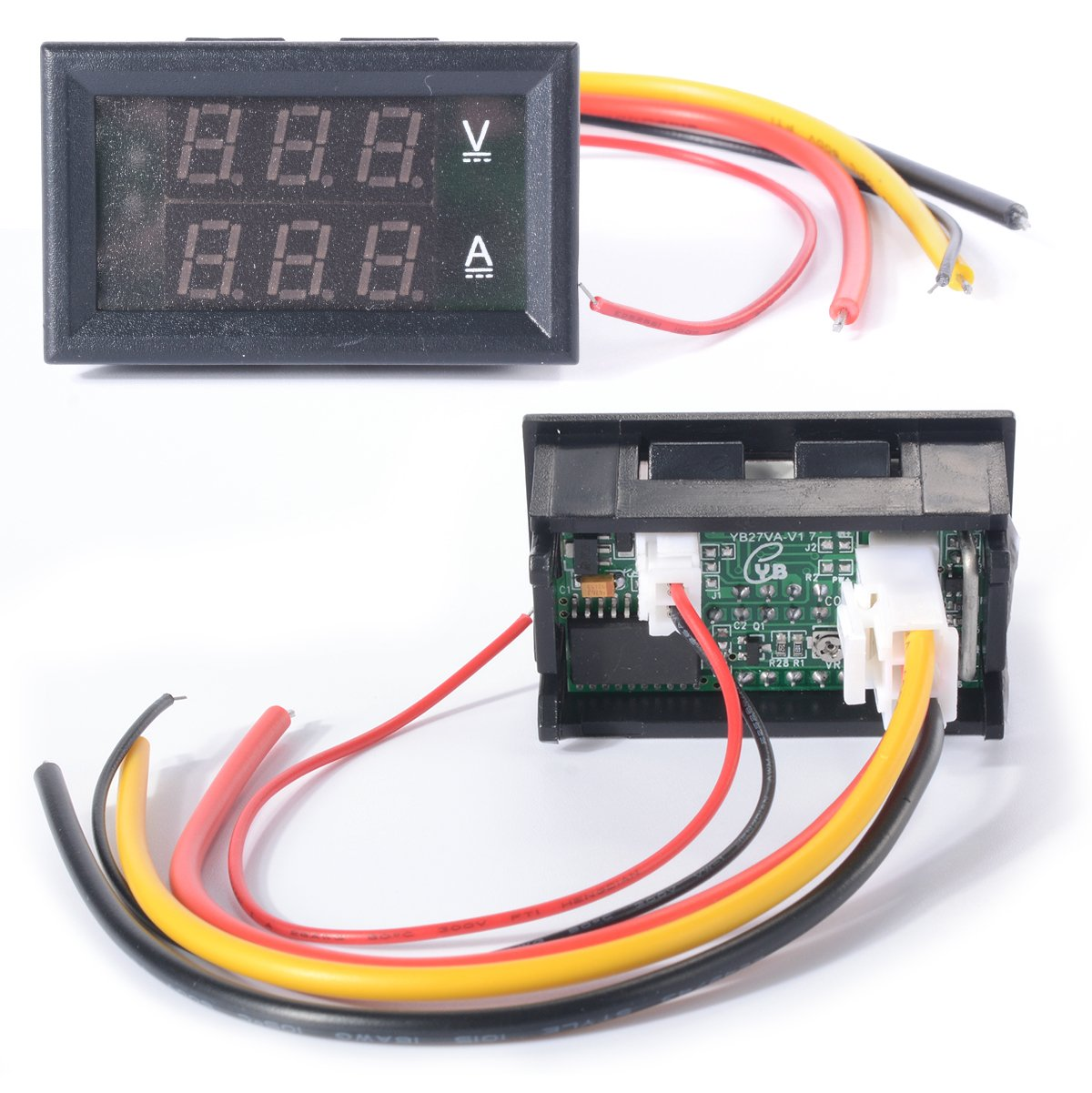 Xcsource Dc 0 100v Voltmeter Ammeter 10a Red Blue Led Wiring Diagram Get Free Image About Electronics