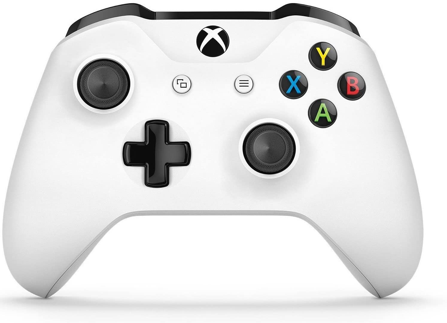 214074b20a7c Amazon.com  Xbox Wireless Controller - White  xbox one  MICROSOFT(R ...
