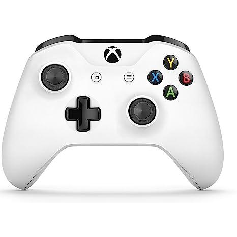 8ed3a6107f7 Control Inalámbrico Xbox One Blanco - Essentials Edition  Microsoft  Software  Amazon.com.mx  Videojuegos