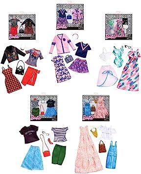 Verdes-10V57132167V10 Mattel FKT27 Barbie Pack 2 Modas Surtido/Modelos Aleatorios, Una Unidad (446FKT27): Amazon.es: Deportes y aire libre