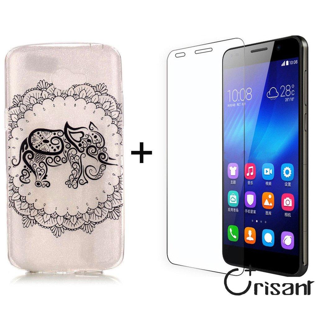 Remidy Carcasa Funda para LG K5, Elefante Personalizada Soft ...