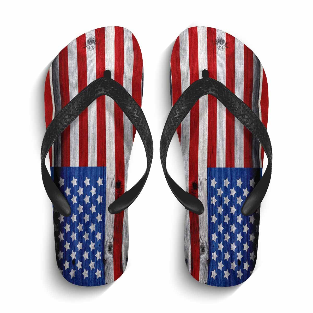 6cddd952c1f8 Amazon.com | MingDe Sports Mens American Flag Flip Flops Non-Slip Beach  Shower Pool House Home Thong Sandals Size | Sandals