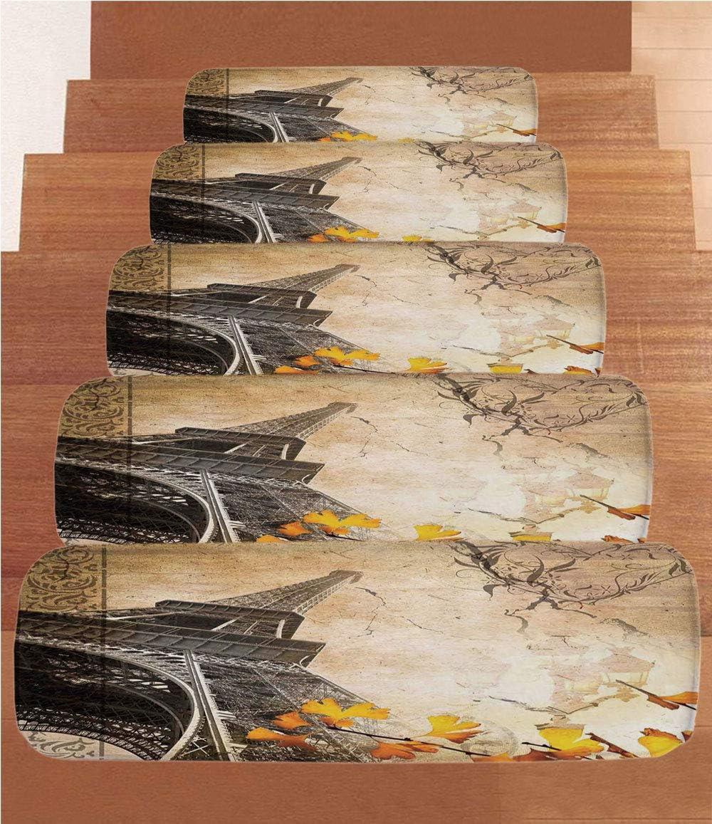 Vinilos japoneses de Coral para escaleras, Alfombrillas para Escalera, póster de Viaje japonés con Ramas de árbol Sakura, Flores asiáticas, Destino de Viaje, (Juego de 5) 21,6 x 70 cm: Amazon.es: Juguetes