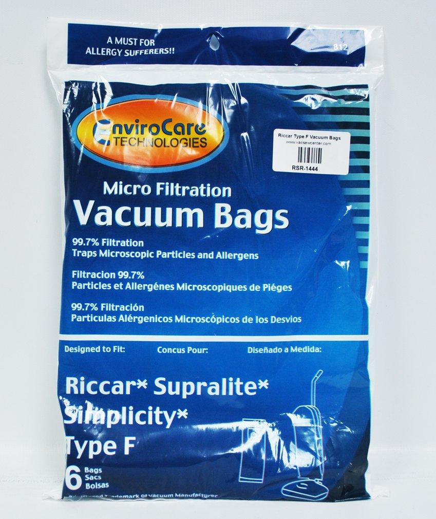 Riccar, Simplicity Type F Vacuum Cleaner Bags