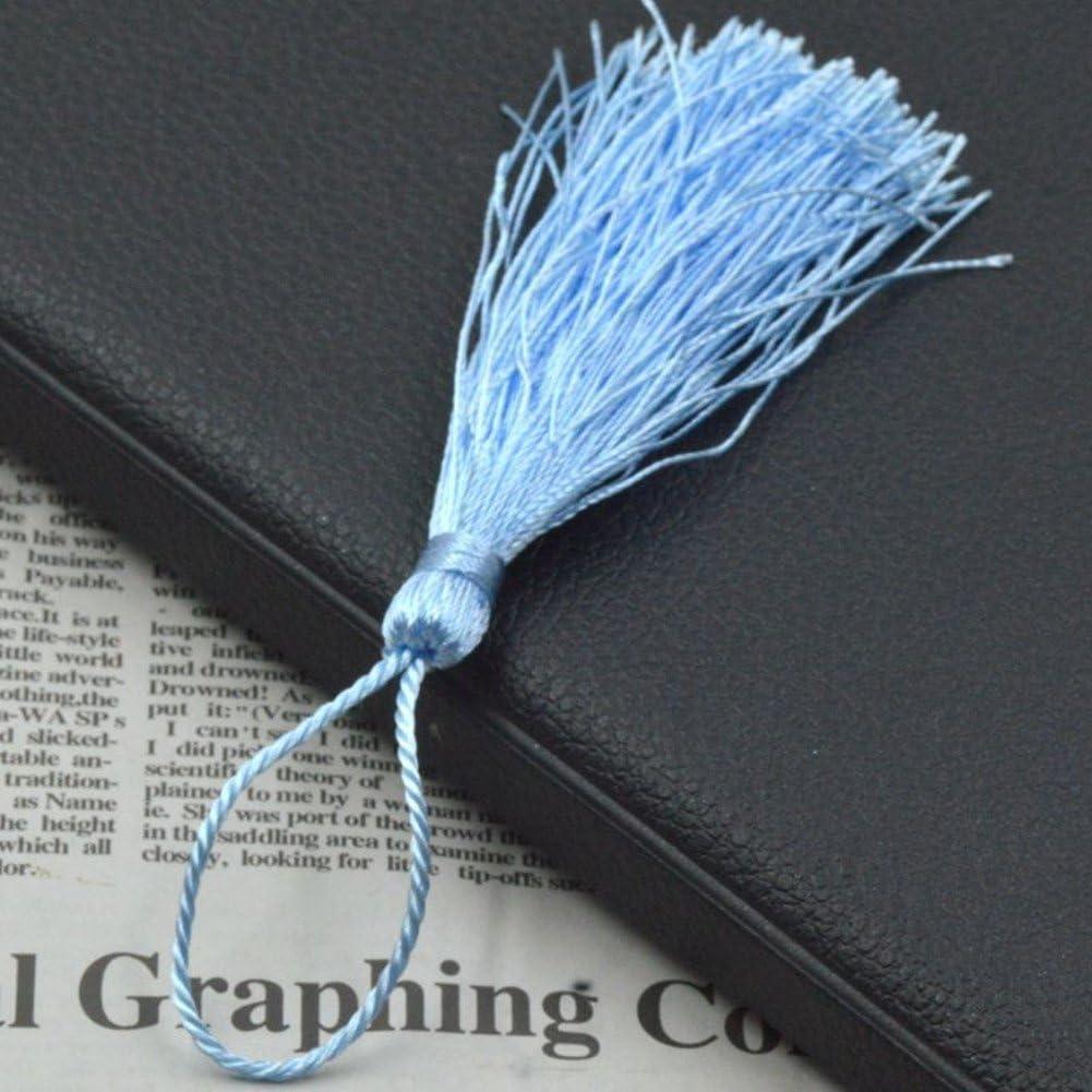CellElection 25pcs Multi-Colors Mini Tassels DIY Craft Supplies Jewelry Tassels Chunky Tassel
