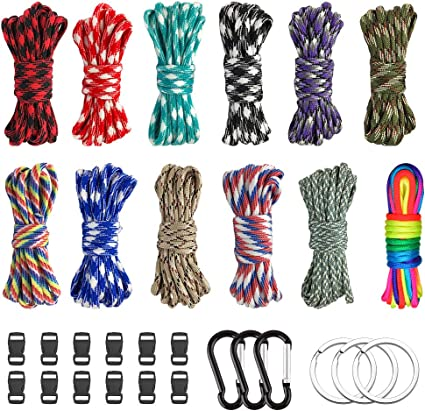 Equipment Lanyard Tent Ropes Survival kit Paracords 550 Rope Paracord Cord