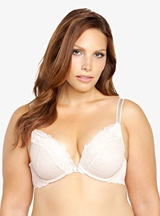 7b278f307 Torrid Lace Push-Up Plunge Bra at Amazon Women s Clothing store