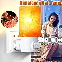 Lava Lamp-15W Rotatable Mini Himalaya Salt Night Light-Cylindrical Wall Lamp-Bedside Home Decoration Novelty Lighting AU…