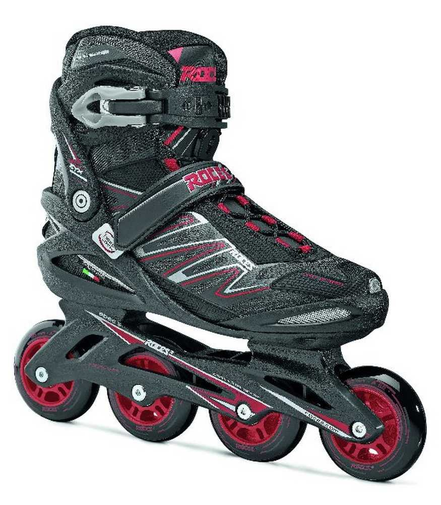 Roces Mens Big ZYX M Fitness Inline Skates Rollerblade Art 400812 (Black/Red 15)