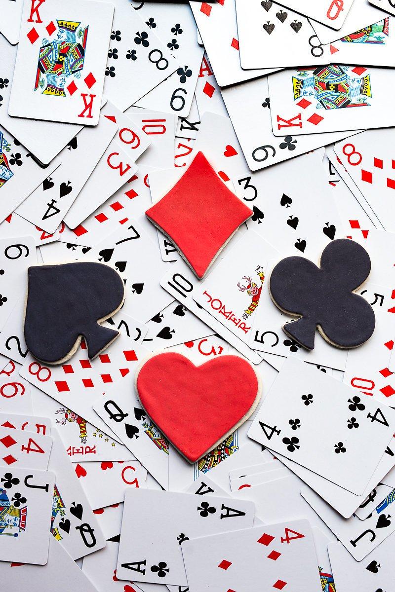 Diamond 4-Piece Set R/&M International 1865 Casino Playing Card Suits Cookie Cutters Heart Club Spade