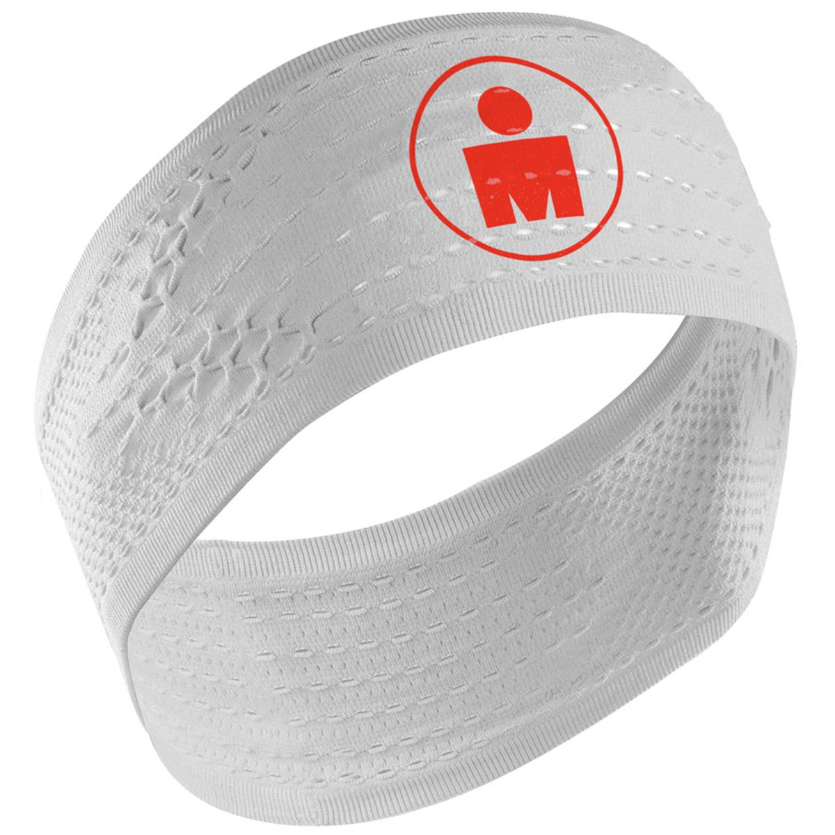 Compressport - Headband On/Off Ironman, Color White 024 011