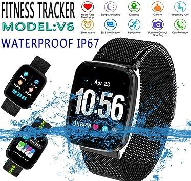 Pulsera de actividad Nabvin Fitness Tracker, pulsera inteligente ...